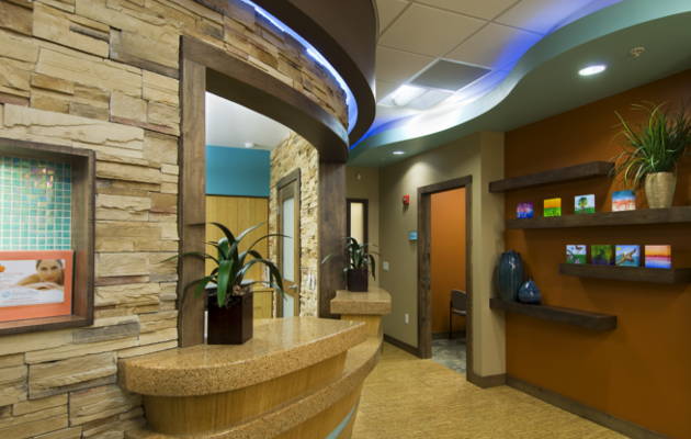 Medical office LEED certified interior design